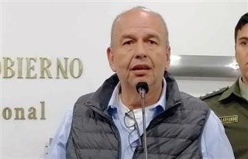 Violencia en Bolivia se debe a 'delincuentes políticos': Murillo