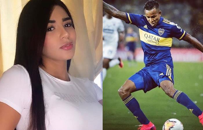 El jugador de Boca Junior, Sebastián Villa fue acusado por su ex novia de maltrato. Foto: Instagram