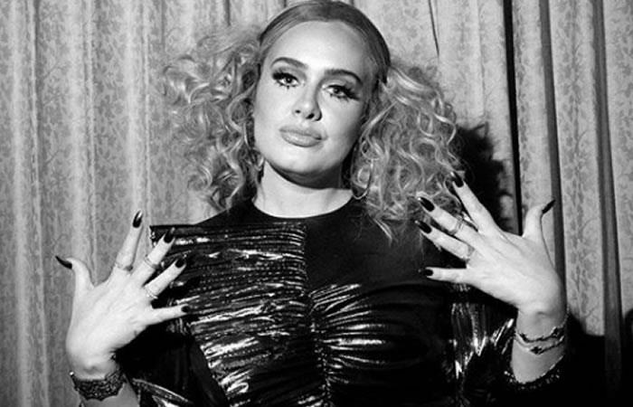 Cantante británica Adele. Foto: Instagram