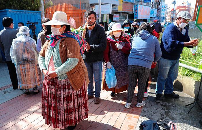 Bolivia está cerca de los 2.000 casos de coronavirus. Foto: EFE