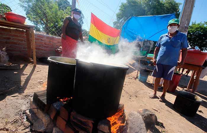 Bolivia estará en cuarentena hasta el 10 de mayo. Foto: EFE
