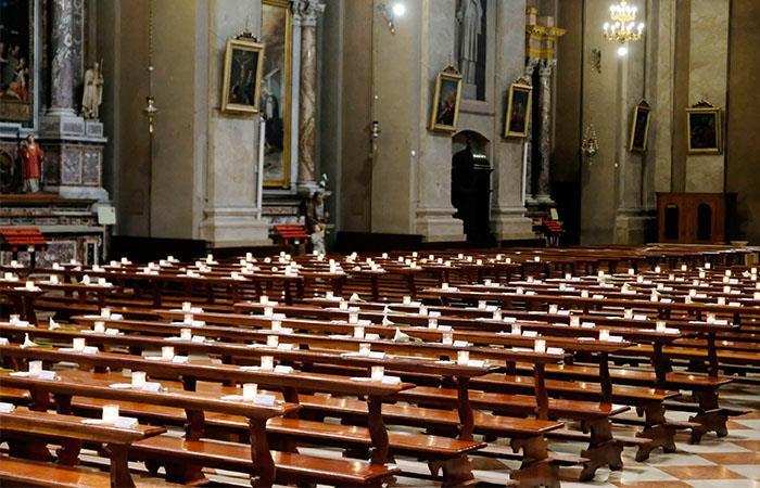 Italia retomará las misas el próximo 18 de mayo. Foto: EFE