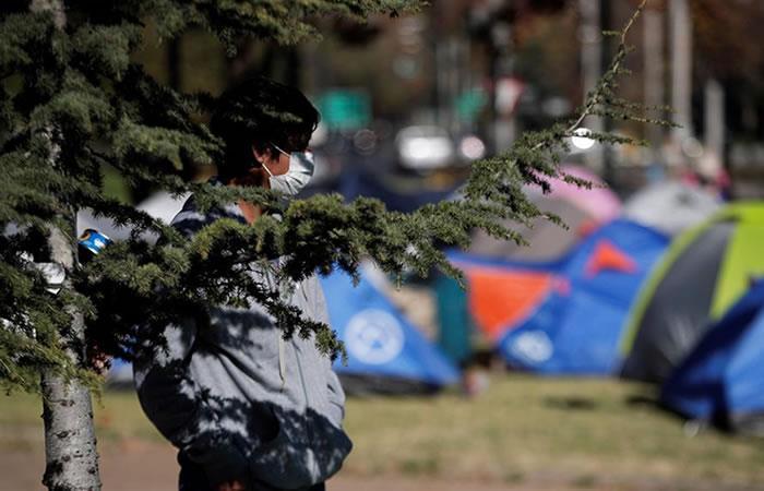 1.721 conciudadanos en suelo chileno pudieron volver al país andino. Foto: EFE.
