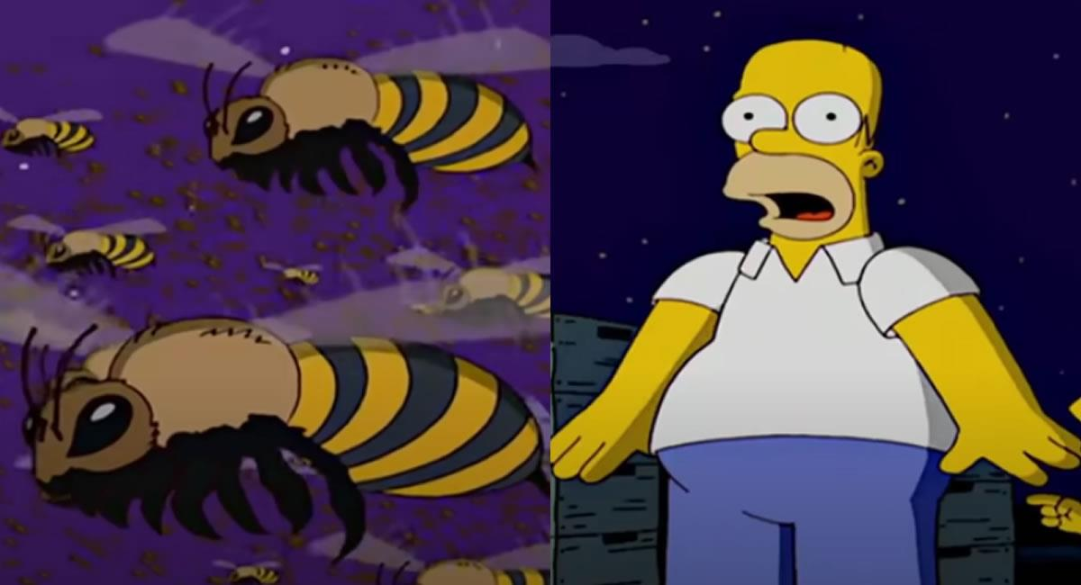 'Los Simpson' sigue haciendo de las suyas con las predicciones. Foto: Youtube / Captura canal Capscake