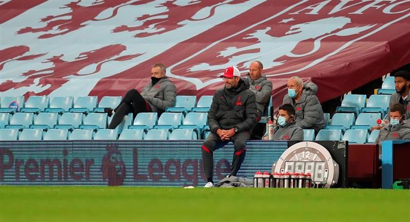 Liverpool podría ser el campeón de la Premier League luego de la pandemia. Foto: EFE
