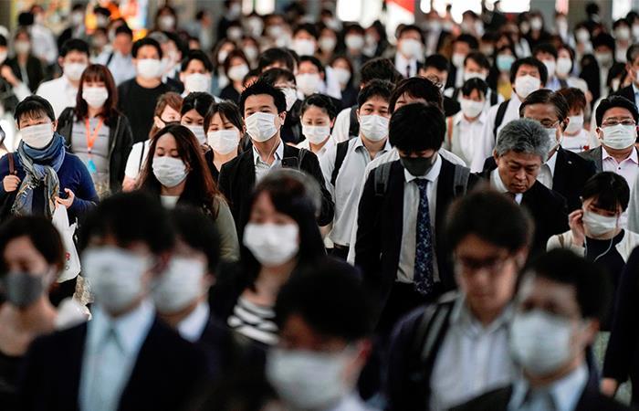 Japón empieza a retomar labores luego de la pandemia. Foto: EFE