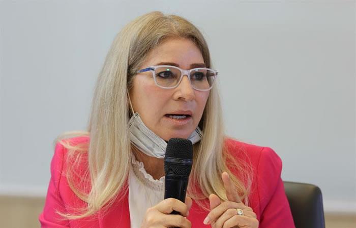 Cilia Flores, esposa del presidente venezolano, Nicolás Maduro. Foto: EFE