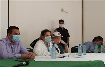 Presidenta Áñez: la prioridad en este momento es la salud y economía de los bolivianos