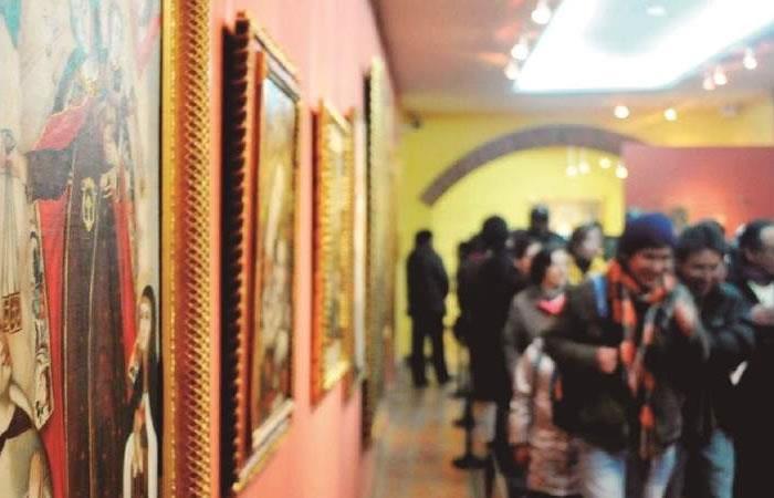 Este año la 'Larga Noche de Museos' en Bolivia se realizará de forma virtual. Foto: ABI