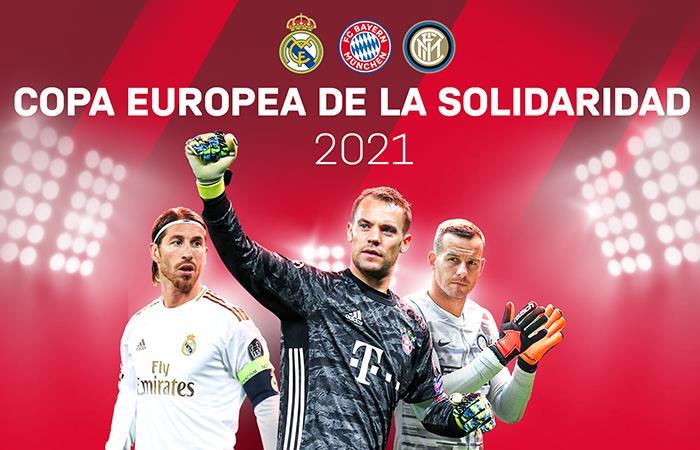 La Copa Europea de la Solidaridad se jugará en 2021.. Foto: Twitter