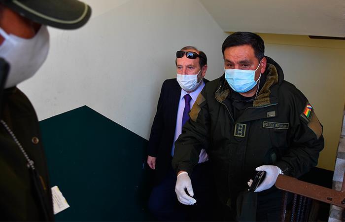 Marcelo Navajas fue aprehendido este 20 de mayo. Foto: EFE