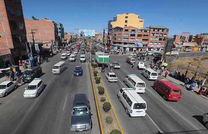 La ciudad de El Alto, la segunda mayor del país con cerca de un millón de habitantes. Foto: EFE