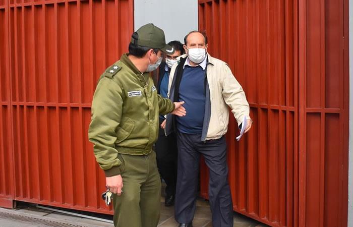 Exministro de Salud de Bolivia, Marcelo Navajas. Foto: EFE