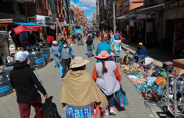 Siguen aumentando los casos de coronavirus en Bolviia. Foto: EFE