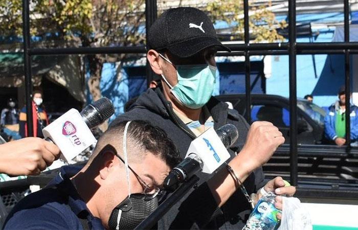 José María Leyes fue arrestado ante su aparente intento de fuga. Foto: Twitter