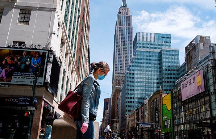 Estados Unidos es el epicentro de la pandemia. Foto: EFE