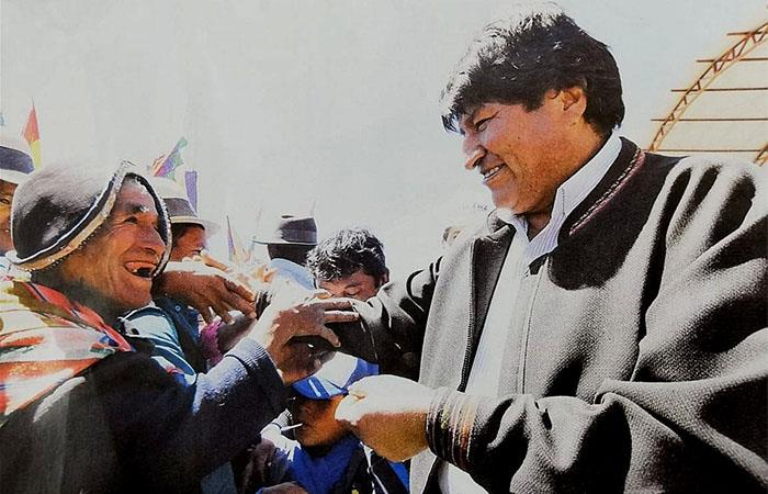 Evo Morales gobernó a Bolivia durante 14 años. Foto: Twitter