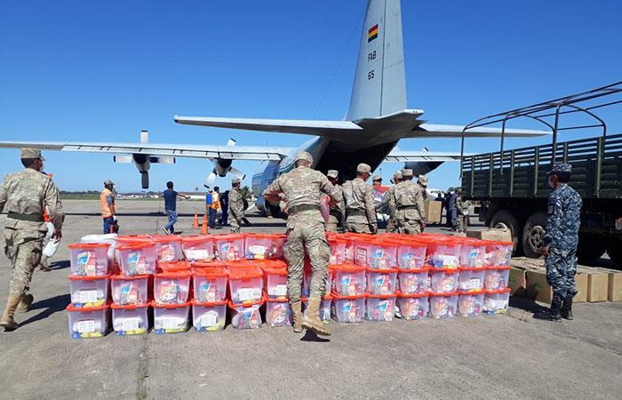 Miles de ayudas humanitarias han sido enviadas a Beni. Foto: Twitter