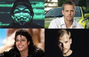 """Anonymous filtra impactante lista de famosos que según ellos fueron """"silenciados"""""""