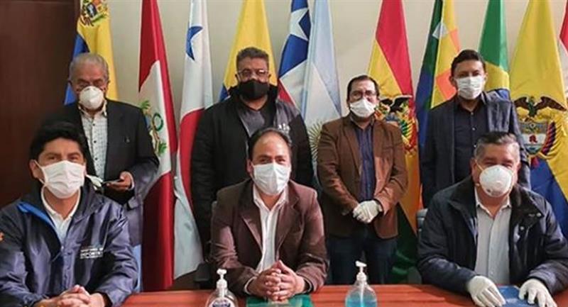La FBF entregó los protocolos de bioseguridad para el reinicio de la liga de Bolivia. Foto: Instagram
