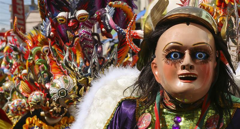 El Gran Poder boliviano es declarado como Patrimonio de la Humanidad. Foto: Shutterstock