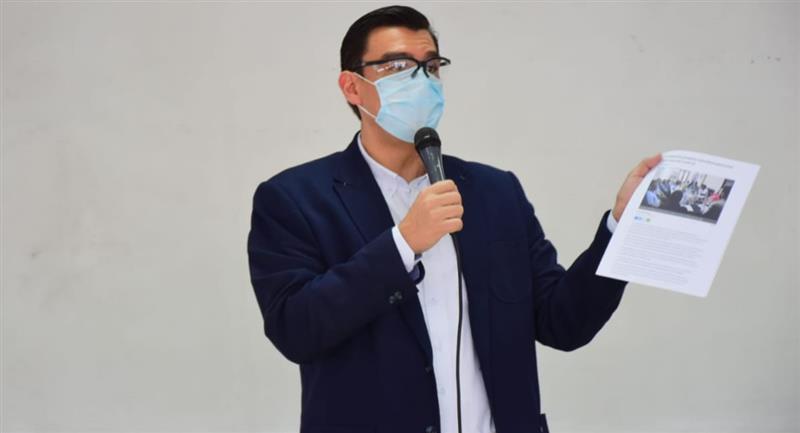 José María Leyes renunció a su puesto por amenazas en contra de su familia. Foto: Twitter