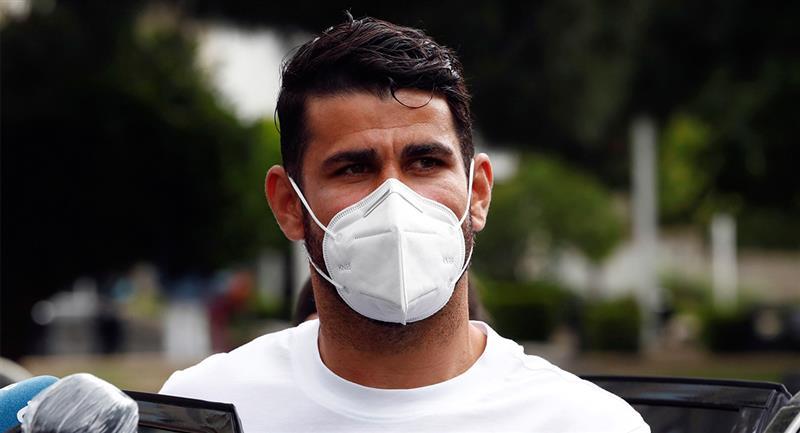 Diego Costa tuvo que presentarse a juicio por su delito fiscal. Foto: EFE