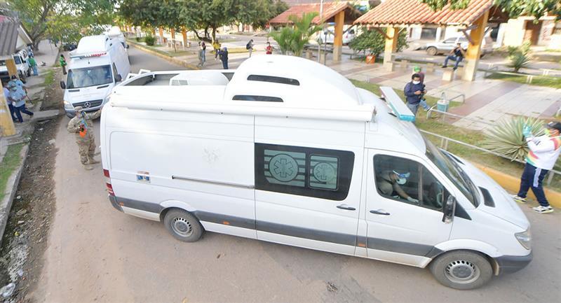 Las ayudas siguen llegando para Bolivia. Foto: ABI