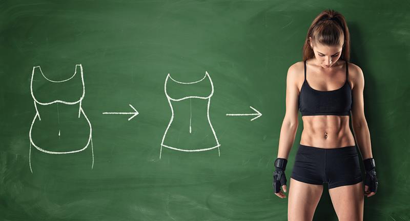 Esta es la clave para poder tonificar tu abdomen. Foto: Shutterstock