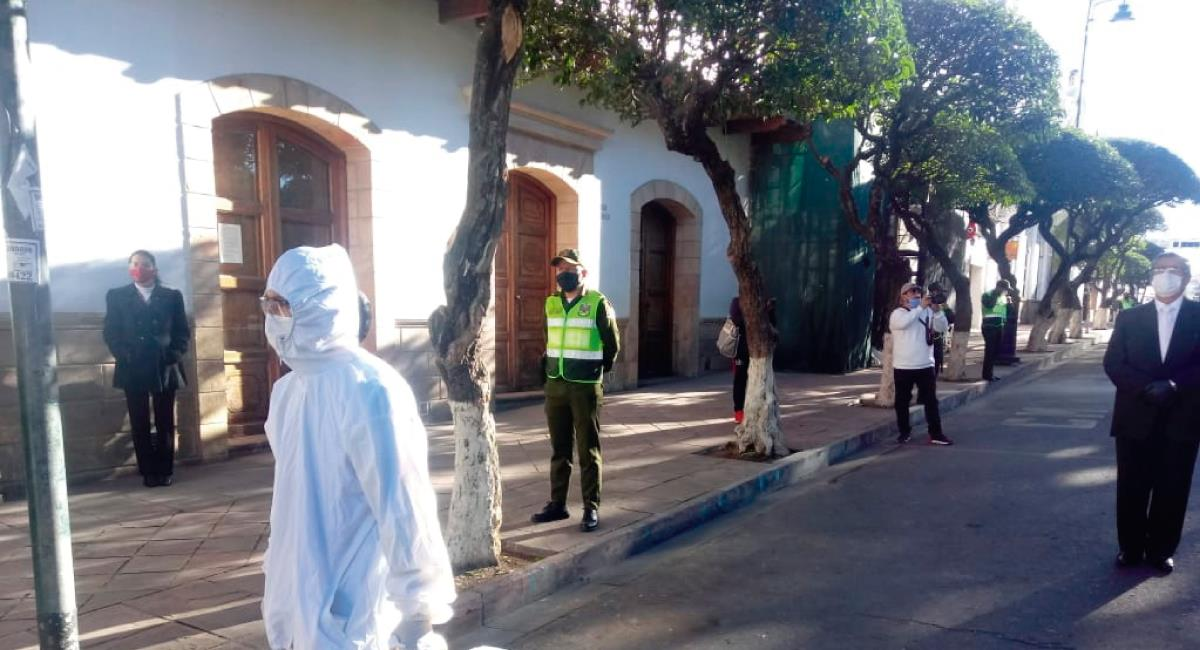 Esto ante el colapso de la Villa Bolivariana. Foto: ABI @abi_bolivia
