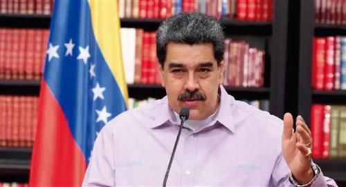 Maduro protesta por captura de su presunto testaferro