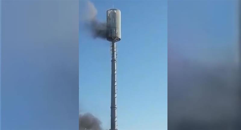 En el atentado destruyeron cuatro antenas de comunicación. Foto: ABI