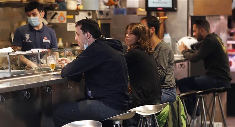 Bares del Marcado de la Boquería de Barcelona. Foto: EFE