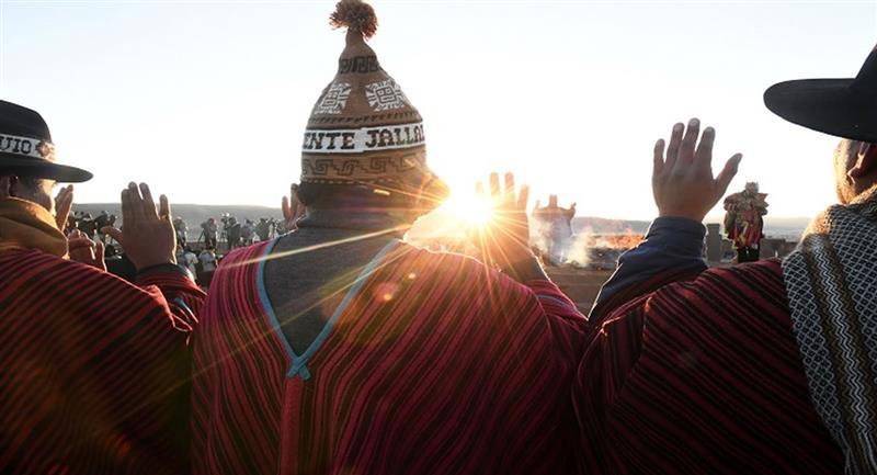 Rituales ancestrales dedicados al solsticio de verano en el hemisferio austral que determinaba el ciclo agrícola. Foto: ABI
