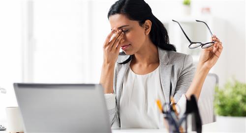 ¿Cómo prevenir la fatiga visual por el uso de computador?
