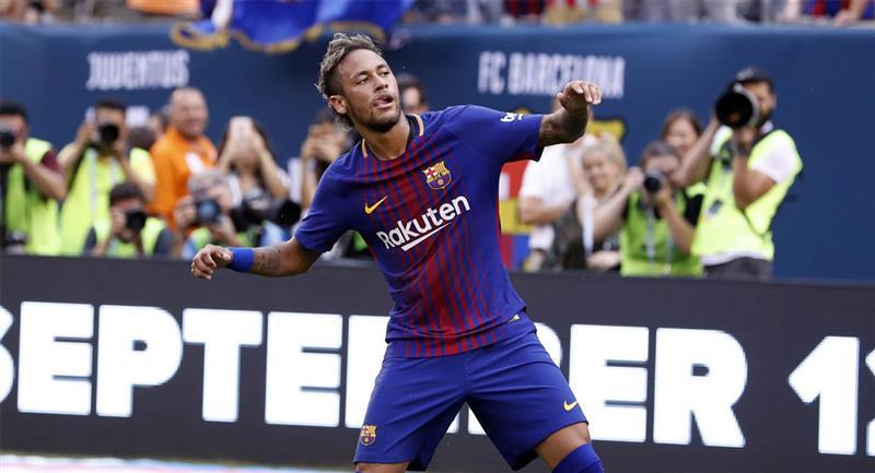 Neymar abandonó Barcelona a mitad de 2017. Foto: Twitter @FCBarcelona_es