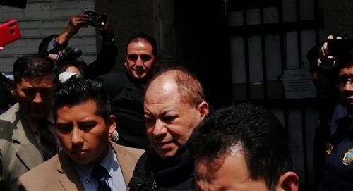 Justicia determina detención domiciliaria y una fianza de Bs 350 mil para exministro Romero