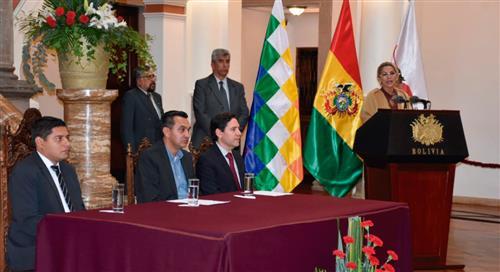 Presidenta Áñez y el TSE analizan fecha para próximas elecciones