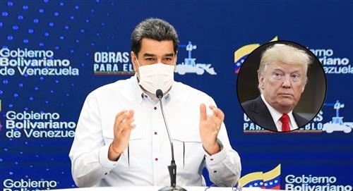 """Nicolás Maduro dice que está dispuesto a conversar """"respetuosamente"""" con Donald Trump"""