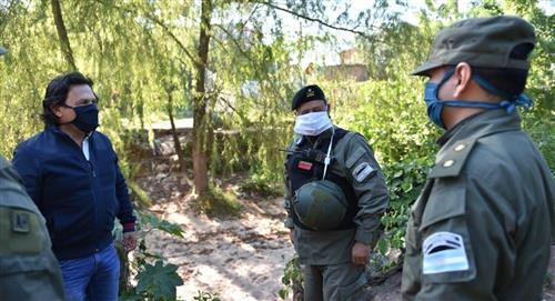 Argentina despliega militares en un paso fronterizo con Bolivia por COVID-19