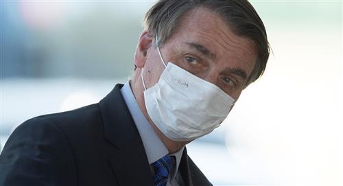 La Justicia de Brasil determina que Jair Bolsonaro sea multado si no usa máscara preventiva
