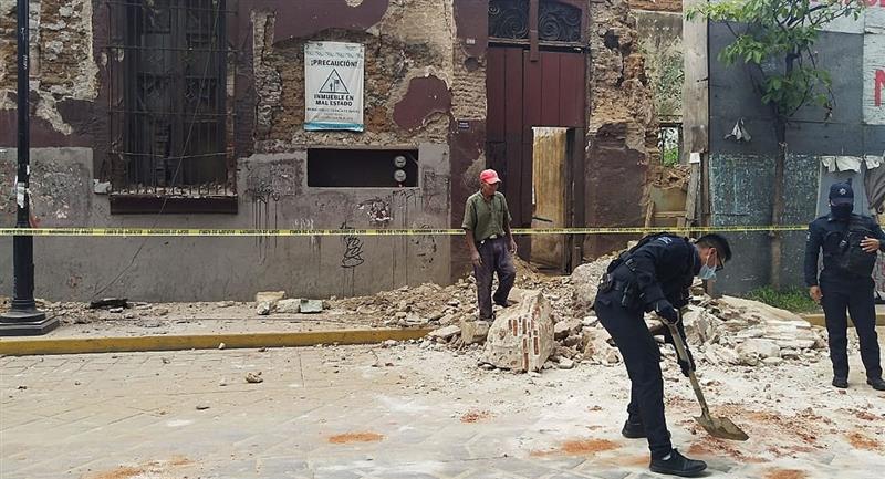 México se encuentra en una zona de alta sismicidad debido a la interacción de cinco placas tectónicas. Foto: EFE