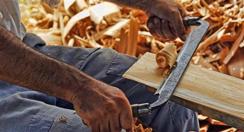 Carpinteros reclaman apoyo de las autoridades y anuncian una feria de su producción