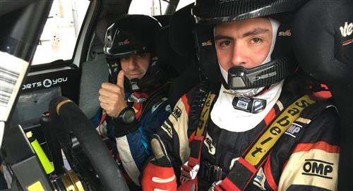 Rolando Careaga competirá en 6 pruebas europeas con miras al Mundial de Rally 2020