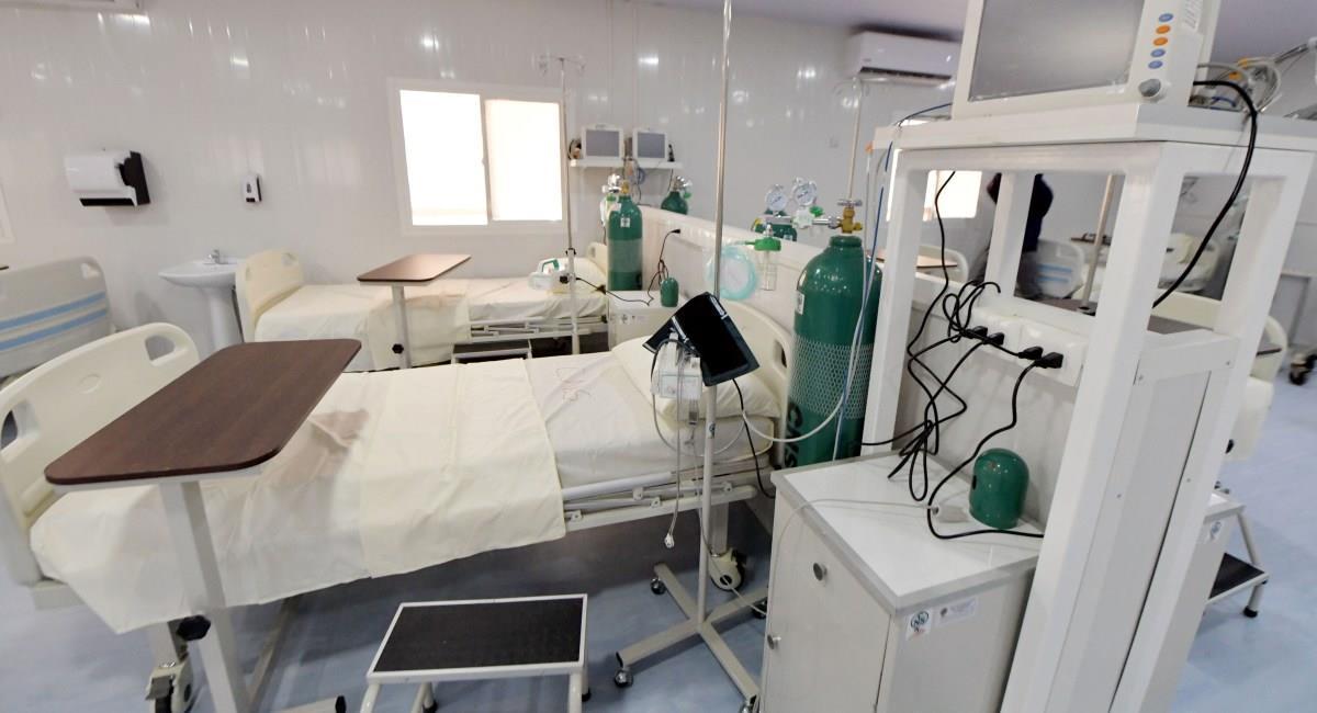 Hospital en Beni con personal de la CNS. Foto: ABI