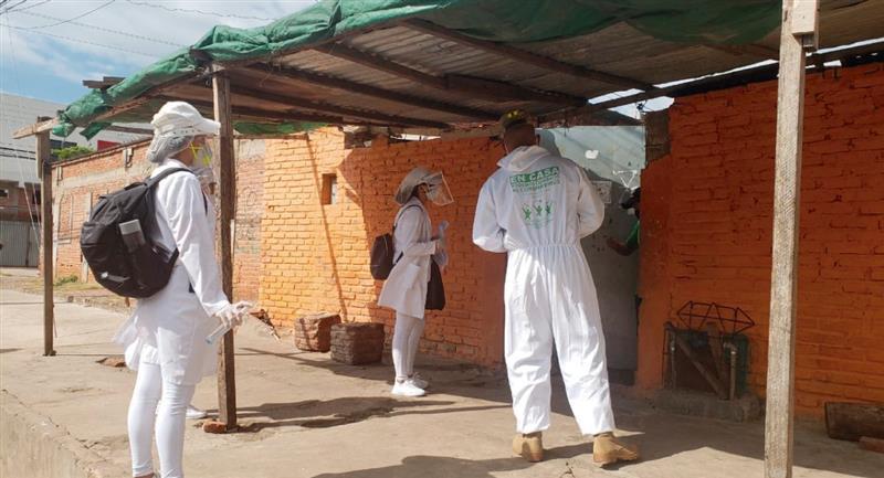 Cifras Coronavirus en Bolivia. Foto: Twitter @JeanineAnez