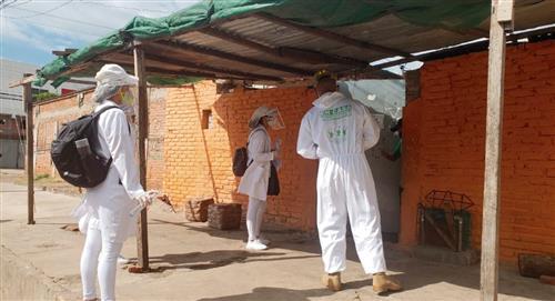 COVID-19: Bolivia suma nuevo récord diario de contagios