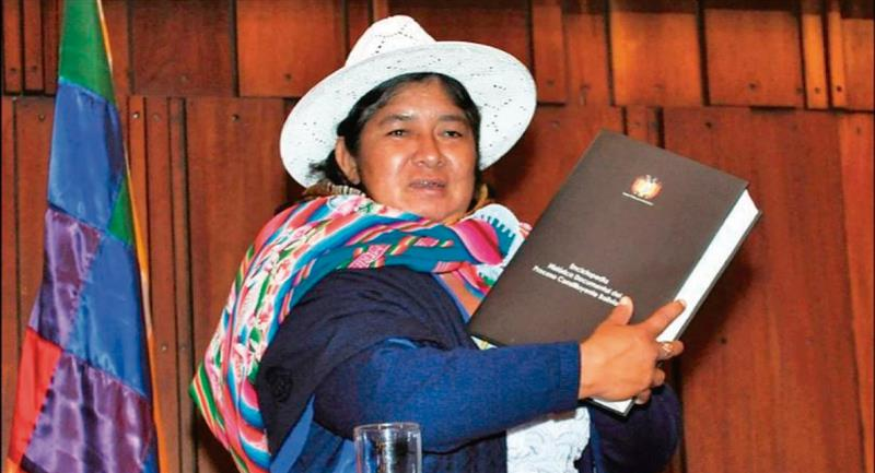 Hay luto en Bolivia por su perdida. Foto: Twitter @Adriana1989sa