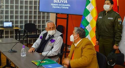 Gobierno y FBF analizan en mesa de trabajo la reanudación del fútbol en Bolivia