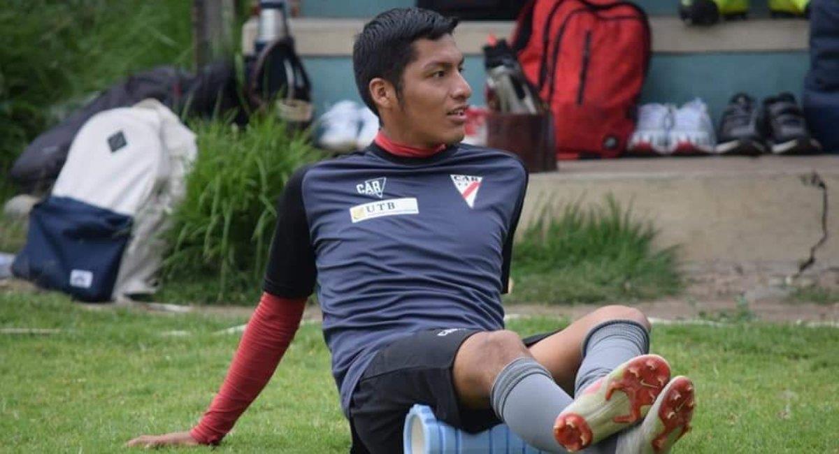El volante dio positivo a coronavirus. Foto: Facebook Gente de Fútbol - Bolivia